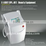 Fine Lines Removal New Design E-light 480-1200nm IPL RF Technology Pigmented Spot Removal