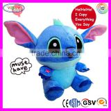 D907 Soft Talking Toy Stitch Stuffed Sound Recorder Stitch Plush Toys