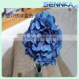 newest artificial hydrangea fresh cut rose flower wall for wedding backdrop decor, bridal bouquet