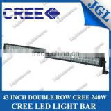 2013 New in market 40 inch adjustable 240W led light bar Cree led driving light Flood / Spot / Combo beam