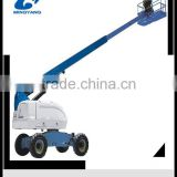 22m diesel telescopic boom lift with original imported engine