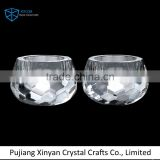 New Arrival superior quality led bling crystal candle holders manufacturer sale