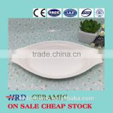 Wholesale stocked Porcelain Plate /Hotel/Restaurant/Banquet Ceramic Combined Plate / Buffet Dishes