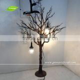 WTR026 GNW Black Fiberglass Artificial Dry Tree for Shop Window Decoration Sale at Good Price