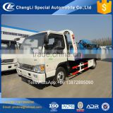 6 wheeler rotator wrecker tow sliding platform recovery truck for sale
