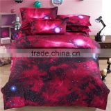 3D Bedding Set Universe Outer Space Themed ,100% polyester 3D print bedspreads Duvet cover & pillow case queen full size