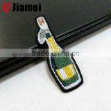 Machine embroidered cartoon small embroidery iron on custom patches