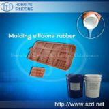 Food grade liquid silicone for chocolate mold making