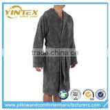 Men's Cotton Bath Robe Housecoat Dressing Gown Dress Bathrobe