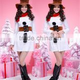 Snowman costume for adult baby girl christmas dresses