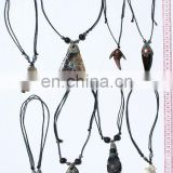 Necklaces Carved of Bull Horn Pendant Ethnic South American Tribal Peruvian Jewelry Wholesale