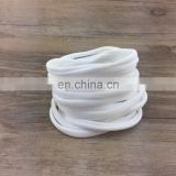 Bulk wholesale girl's elastic hair rope white nylon headband women's hair accessories