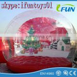 inflatable human snow globe Christmas / inflatable snow globe christmas / human snow globe for sale