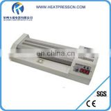 High quality flatbed Desktop Pouch laminator from china manufacturer