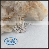 cangnan customized cheap metal clothing charm /badge for sale