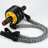 AB Wheel Roller Kit - AB Roller Pro with Resistant Band,Knee Pad,Anti-Slip Handles - Perfect Abdominal Core Carver Fitne