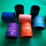 Red Blue Black Foam Can Cooler Extruded Forming Nbr Foam Can Koozies