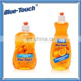 Blue-Touch Ultra Pure Essentials Dishwashing Liquid, Citrus Infusion Scent, Clear/Yellow color - no dyes, 20.3 OZ (Pack of24)