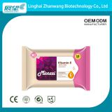 OEM Biodegradable Organic Private Label Makeup Remover Wipes Sensitive Skin With Vitamin E