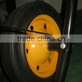 solid wheel ,13X3solid wheel , solid wheel of wheel barrow , 13X3 solid wheel for wb3800/wb6500 ,africa market of solid wheel