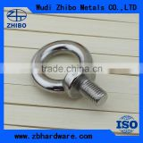 Rigging Hardware DIN580 Lifting Eye Bolt Thimble Ring Nut Small Eye Bolt Eye Nut Manufacturer