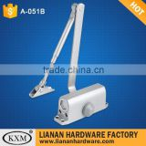 fire rated automatic hydraulic 2 stall speed 45KG door closer A051B                                                                         Quality Choice