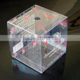 Factory custom clear pvc box for product packaging , pvc clear box with design                                                                         Quality Choice