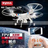 Syma X8C X8W Upgrade FPV Drone with 14MP Wide Angle Camera 2.4G 6Axis RTF RC Quadcopter Helicopter Fit SJ6000 WIFI Camera VS X8G