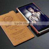 New design crazy horse pu leather case for Sony Z2