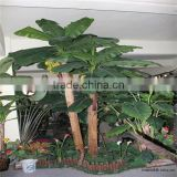 large leaf artificial banana artificial banana trees/fake banana plants