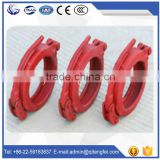High quaility products Putzmeister forged concrete pump pipe snap clamp