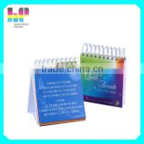 special design high quality table calendar printing book printing