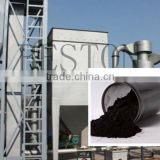 High efficiency zero emission Pyrolysis Rubber Carbon Black Refining Machine with CE ISO
