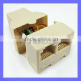 rj11 to rj45 adapter telephone adapter,tel connector & Modular plug (4P4C;6P4C,8P8C)