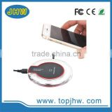 wholesale qi standard wireless charger for samsung iphone