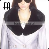 Factory direct wholesale price big rex rabbit fur collar / rabbit fur collar for winter garment
