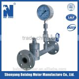 Beixing meter multi-hole orifice low torsion control valve mass flow meter