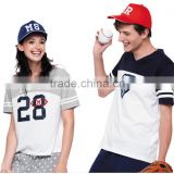 fashion sports digital printing colour changing t shirt for couple