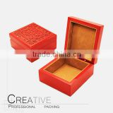 Chinese style sculpture wooden gift box