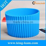 silicone rubber ceramic cup sleeve heat-resistant silicone sleeve