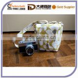 dslr camera bag // padded adjustable strap small cute camera bag // CUSTOM in your choice of fabric