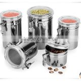 Customized Coffee Tin Can, Tea tin can, Tin coffee caddy