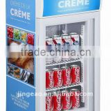 J--005 best sales products made in China alibaba factory sale upright glass door refrigerator