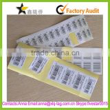 2015 Cheap fartory custom printing cosmetic jar labels