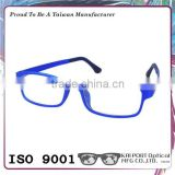Metal color print carbon fiber metal glasses frame with sunglasses lens available