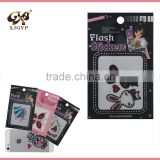 3D fashion decal glitter iphone sticker sheet