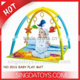 Wholesale Big Size Baby Soft Floor Mats With Frame & Marine Animals Toys
