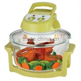 12L EL-817Y yellow color flavorwave halogen oven/ electric aerogrill oven/ electric air fryer