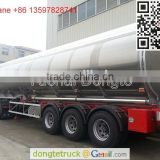 Dongfeng Kinland 6*4 tractor truck with 55000 liters fuel tanker trailer +86 13597828741