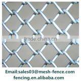 Galvanized chain link fence( diamond wire mesh), PVC Coated Chain mesh Fence                                                                                                         Supplier's Choice